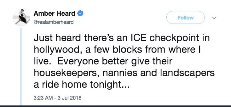 Amber Heard Racist